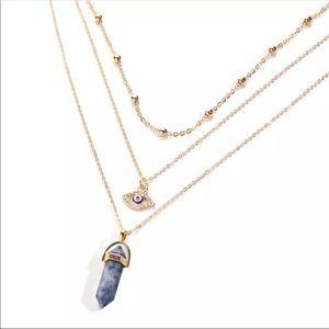 Jewelry - 🆕 Layered evil eye necklace set